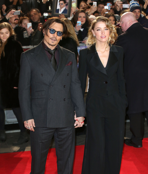 Johnny Depp and Amber Heard UK PDA... or How to Squash Split Rumors