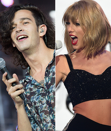 taylor swift dating matt healy The 1975 singer attracted controversy by saying that dating taylor swift would  matt healy's comments about taylor swift were not  healy and swift were.