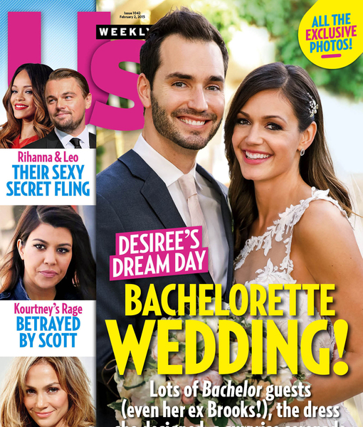 See 'Bachelorette' Desiree Hartsock's Wedding Dress!