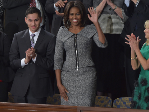 Michelle Obama Is 'The Good Wife' at State of the Union
