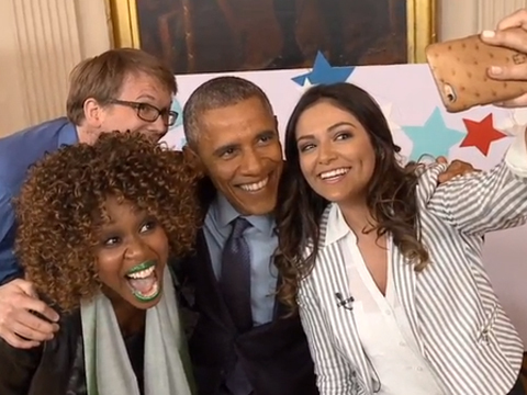 Fruit Loops YouTuber GloZell Flubs It with Pres. Obama