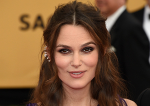 SAG Awards Fashion! Keira Knightley Bumpin' in Purple