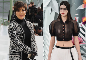 Mother-Daughter Face Off: Kris Jenner Nearly Upstages Kendall with See-Through…