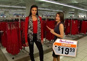 Burlington Hearts a Great Red Dress!