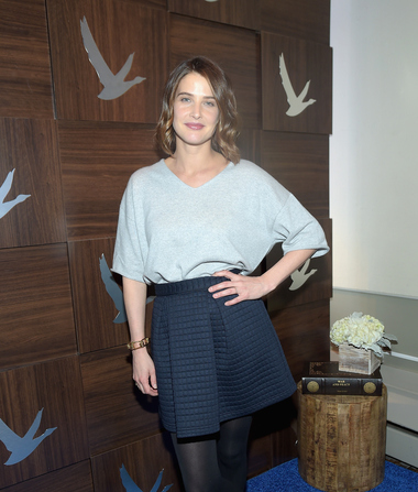 Cobie Smulders Shows Off Cute Post-Baby Figure