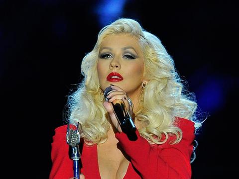 Aww! Christina Aguilera Describes Son Max's Brotherly Love ...  Christina Aguilera
