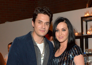 Super Date Night? Katy Perry & John Mayer Spotted at Super Bowl Party