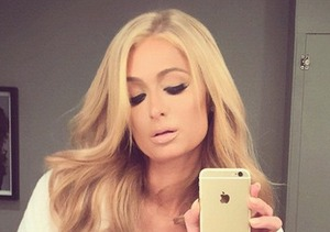 Paris Hilton Goes from Heiress to Barest in Extreme Cleavage Skinstagram Snap