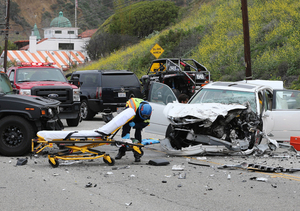 Bruce Jenner Involved in Tragic Car Crash, 1 Person Dead