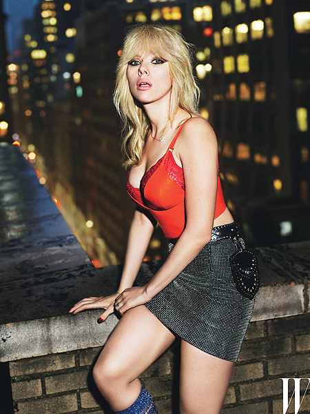 Pics! ScarJo's White-Hot Spread for W Magazine