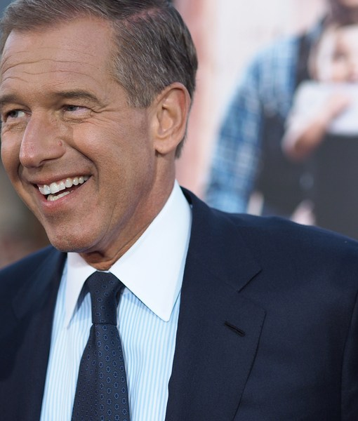 Celebs React to Brian Williams' Suspension… and Should He and Jon Stewart…