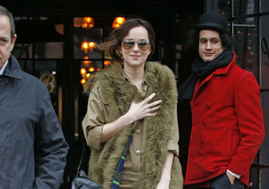 'Fifty Shades' of What the Fashion?! See What Dakota Johnson Wore in NYC