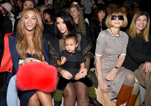 North West Throws Temper Tantrum Next to Beyoncé and Anna Wintour at NYFW!