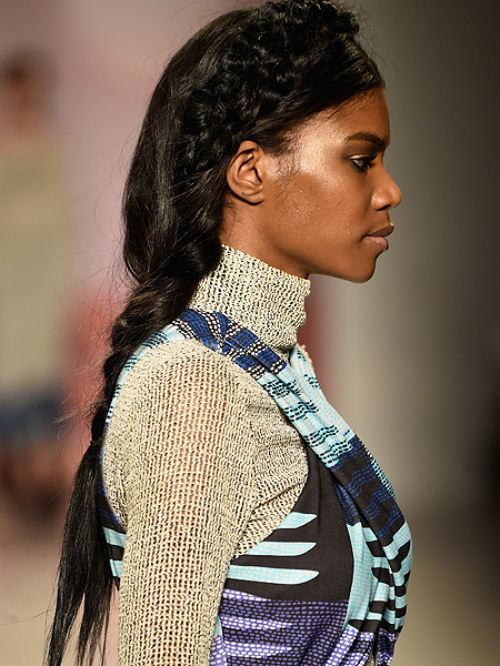 Hairdo Alert! Braids Are In at Mara Hoffman NYFW Show