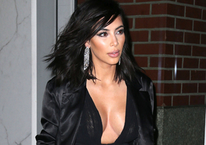 Kim Kardashian's Boob Job… with Makeup!