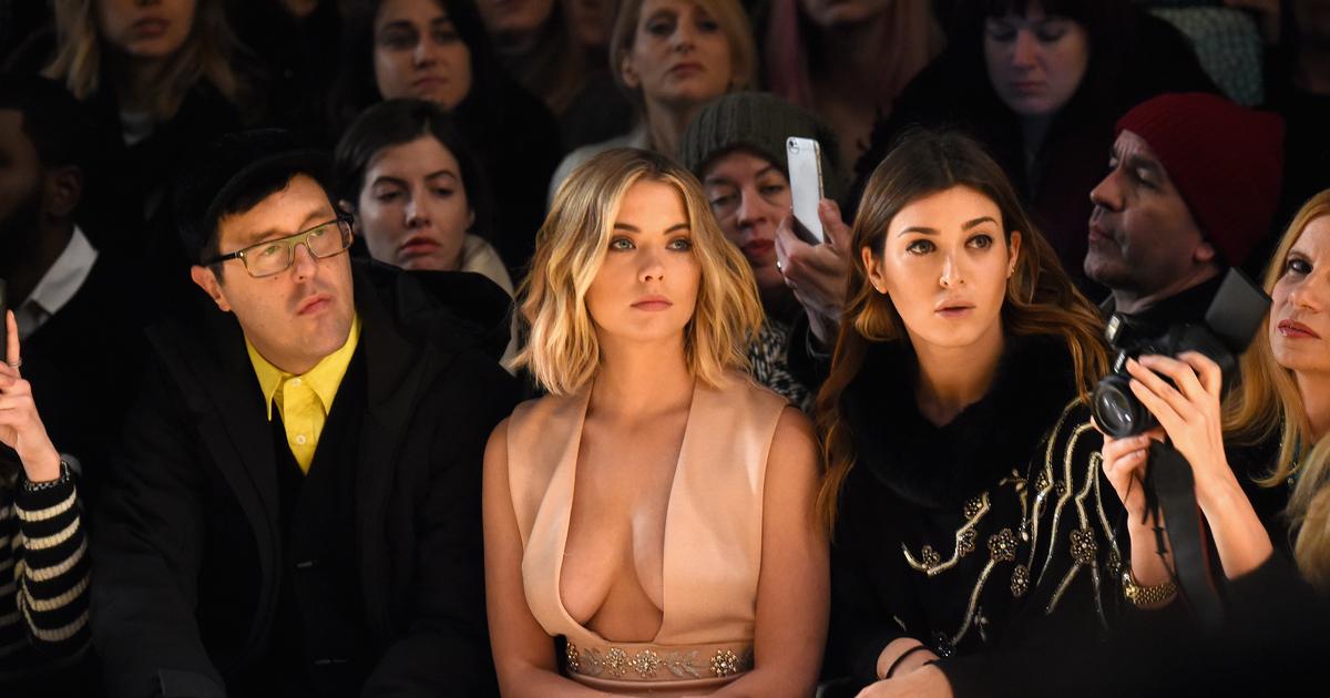 Pretty Little Liars Star Ashley Benson Risks Nip Slip For Fashions