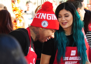 Extra Scoop: Tyga Breaks Silence on Rumors He's Dating Kylie Jenner