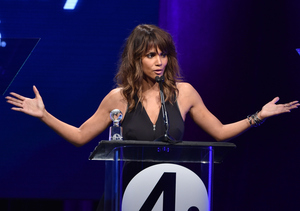 Halle Berry Honored for Her Work with Domestic Abuse Victims
