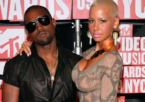 OMG! Kanye West Just Dissed Ex Amber Rose in the Worst Way