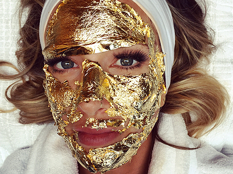 Say What? A Facial That Uses 24-Karat Gold!