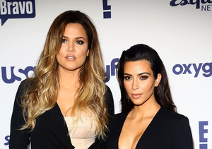 Kim Kardashian, Khloé, Kylie and North West in Car Accident