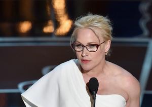 Patricia Arquette Uses Oscars Speech to Make Plea for Women's Rights
