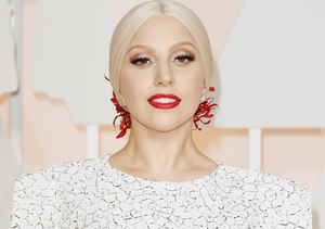 Lady Gaga's Wild Oscars Fashion… But Where's the Ring?!