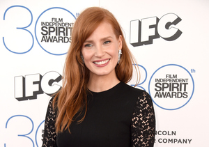 Who Does Jessica Chastain Have a Crush On? Hint: He's 'Extra' Special!