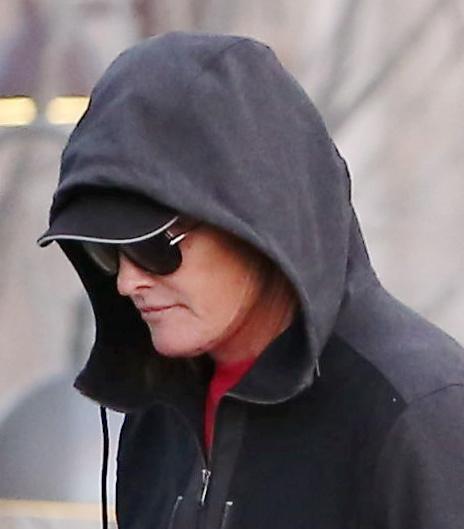 Bruce Jenner's Bizarre Facial Scar