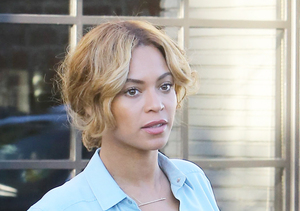 Beyoncé's Blouse Can Barely Contain Her…