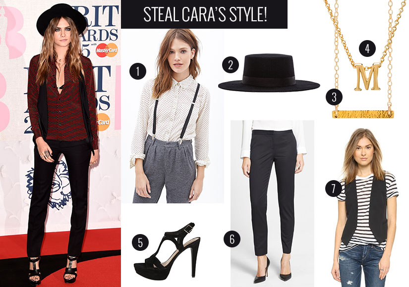 Get the Look! Cara Delevingne's Harry Styles Style
