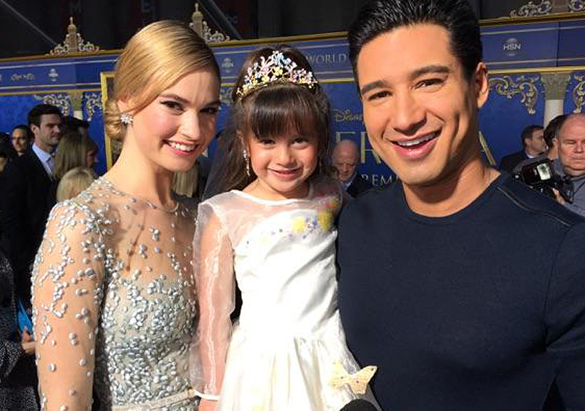 Cutest. Video. Ever! Mario Lopez's Daughter Interviews 'Cinderella' Stars