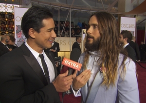 Jared Leto Says He Has a New Film and Haircut in His Future at Oscars