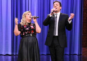 Video! Jimmy Fallon and Kelly Clarkson Perform History of Duets