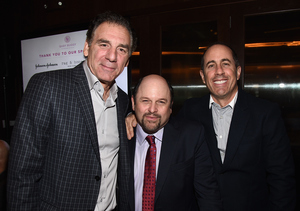 'Seinfeld' Reunion! Jerry, Jason and Michael Reunite for Charity