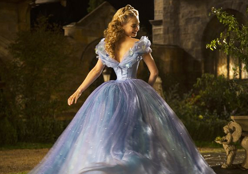Lily James Explains Why Her Waist Looks Tiny in 'Cinderella' Gown