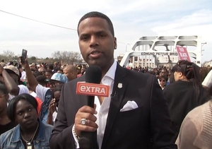 'Extra' at 50th Anniversary of Selma Civil Rights March