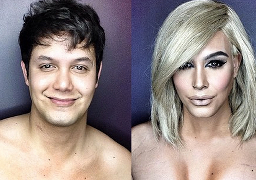Ah-mazing! Makeup Artist Transforms into Kim K, Kylie and Others