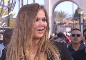 Ronda Rousey Answers Our Fan Questions, Gives Message to Female Athletes