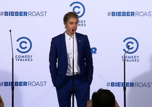 Justin Bieber Talks 'Comedy Central Roast' at After Show Presser