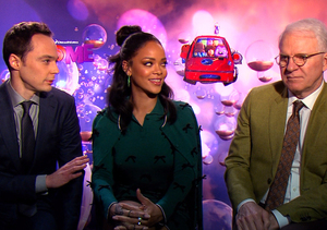What Could Possibly Bring Together Rihanna, Jim Parsons and Steve Martin?