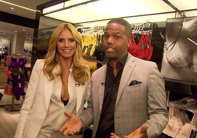 Heidi Klum Talks New Lingerie Line with 'Extra'