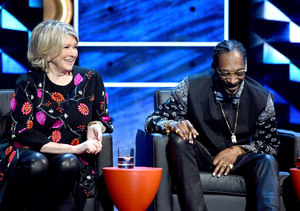 #BieberRoast Sneak Peek! Martha Stewart Jokes She's Still Using Snoop's Brownie…