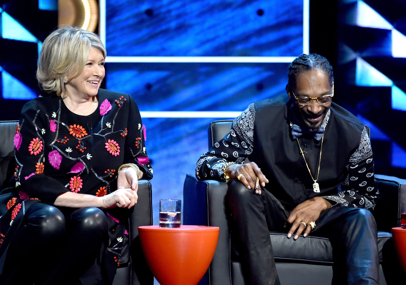 #BieberRoast Sneak Peek! Martha Stewart Jokes She's Still Using Snoop's Brownie Recipe