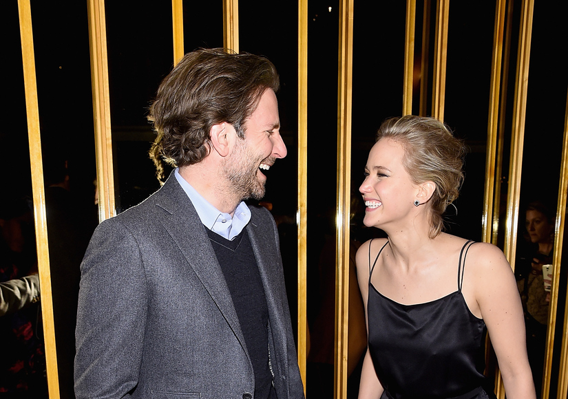 Jennifer Lawrence Happy with 'Work Husband' Bradley Cooper, But There's No Sex