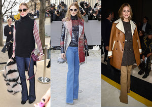 Trend Alert! Fashionista Olivia Palermo Is Bringing Back Flare Jeans