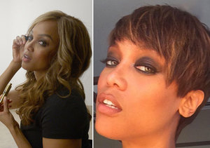 Tyra Banks Debuts New Pixie Cut
