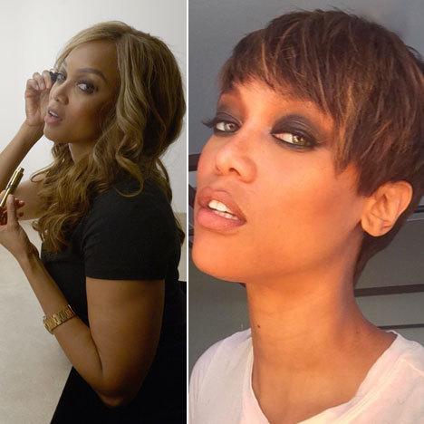 Tyra Banks Debuts New Pixie Cut