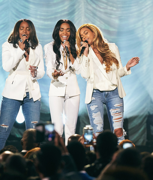 Destiny's Child Reunite & 'Say Yes' to Surprise Performance in Vegas