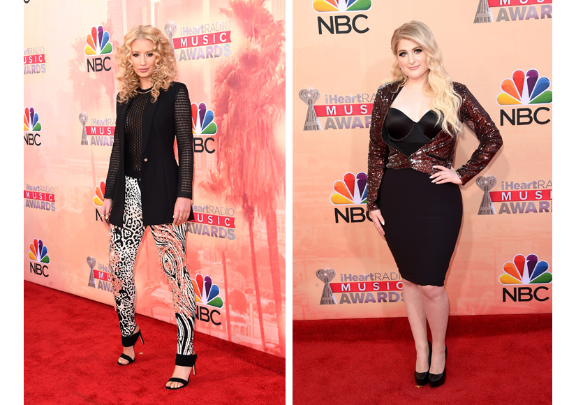 iHeartRadio Music Awards: Fashion is FIERCE on the Red Carpet